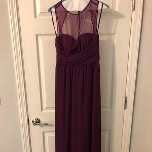 Amsale purple bridesmaid dress Size 4